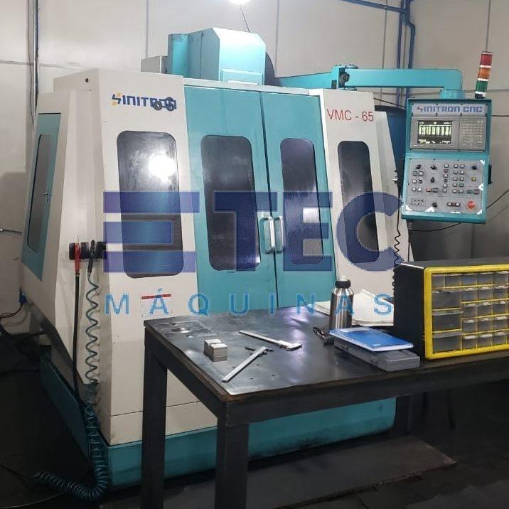 Centro de usinagem CNC Sinitron VMC-65